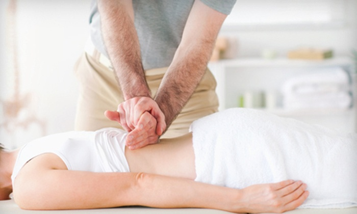 ReNew Spine and Health - Sugar House: 60-Minute Massage and Chiropractic Exam with Option of Cold Laser Therapy at ReNew Spine and Health (Up to 59% Off)