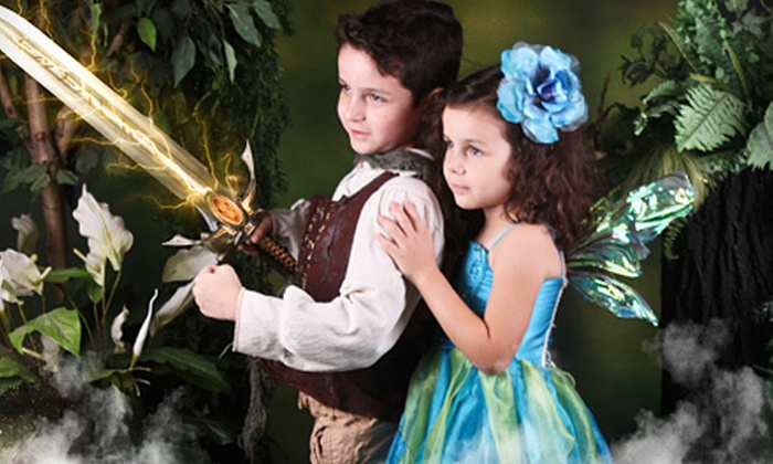 Enchanted Fairies Studio - Shops of Willow Bend: Kids' Costumed Photo Shoot with One Print and Optional DVD with Slideshow at Enchanted Fairies Studio (Up to 74% Off)