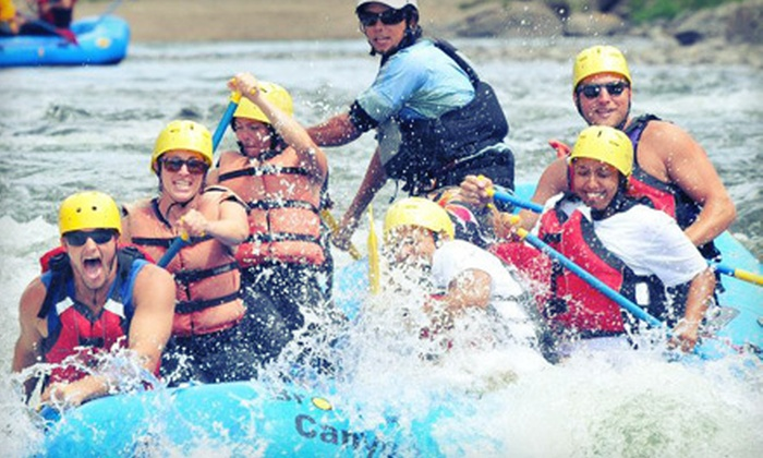 Browns Canyon Rafting - Buena Vista: Half-Day Whitewater-Rafting Trip for Two or Four from Browns Canyon Rafting (Half Off)