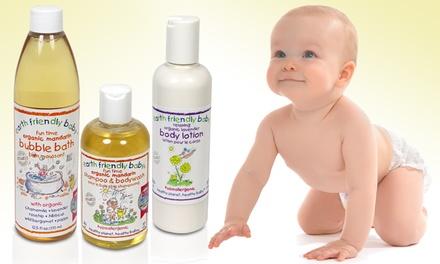 earth friendly baby bath set groupon goods. Black Bedroom Furniture Sets. Home Design Ideas
