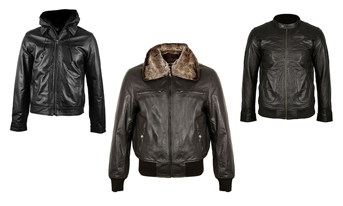 Veste en cuir Gentleman Farmer | Groupon Shopping