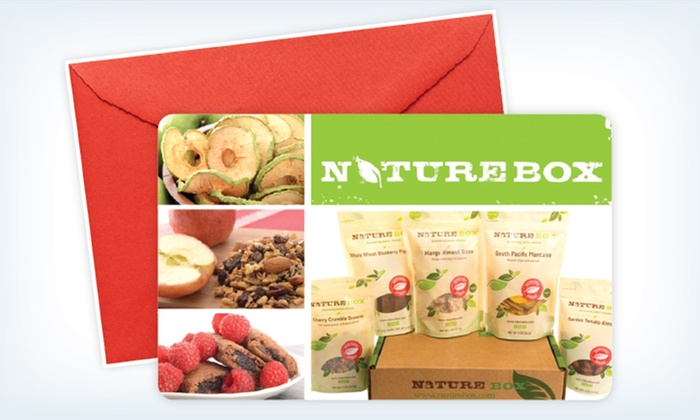 NatureBox: Three or Six-Month Deluxe Package Subscriptionto NatureBox (Up to 41% Off)