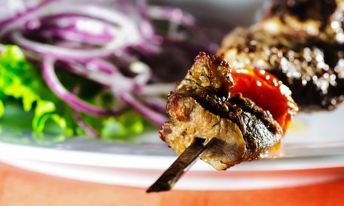 Baba Ghannouj - Baba Ghannouj Mediterranean Bistro: Mediterranean Food for Two at Baba Ghannouj (40% Off)
