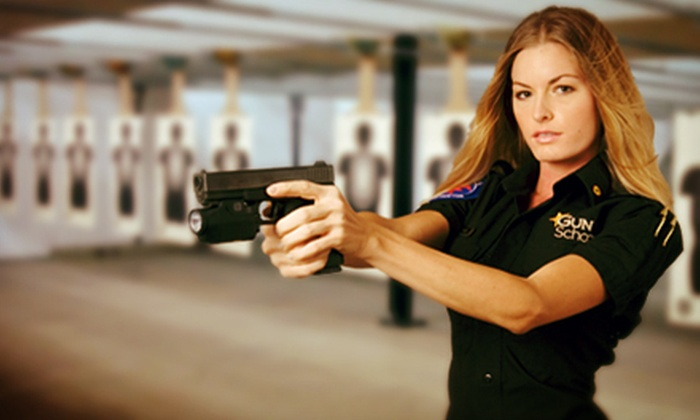 Gun School - Bonita Springs: Two-Hour Concealed-Weapon-License Class with Application and Notary Service for One or Two at Gun School (Up to 57% Off)