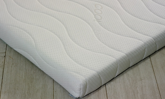 Orthopaedic Memory Foam Mattress Topper from £65 (67% OFF)