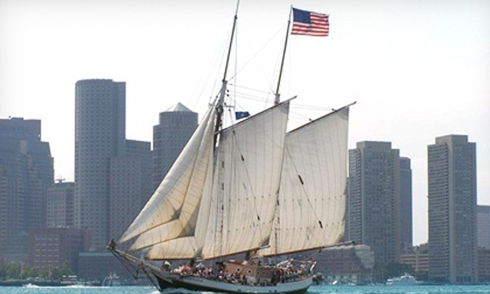 Liberty Fleet of Tall Ships - North End: $18.25 for a Boston Harbor Tall Ships Sail from Liberty Fleet of Tall Ships ($36.75 Value)