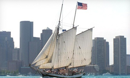 $18.25 for a Boston Harbor Tall Ships Sail from Liberty Fleet of Tall Ships (Up to $42 Value)