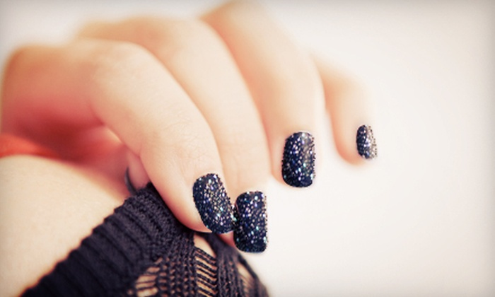 Sara's Glam Squad Salon - Providence: $25 for Two Ciaté 3-D Manicures at Sara's Glam Squad Salon ($50 Value)