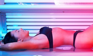 Aloha Tanning Salon: 5 or 10 10-Minute Level 3 Tanning Sessions at Aloha Tanning Salon (Up to 74% Off)