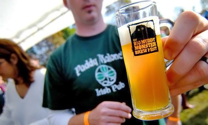 Big Muddy Monster Brewfest - Riverside Park: Beer Tastings for Two or Four at Big Muddy Monster Brewfest on Saturday, October 18, at 1 p.m. (Up to 50% Off)