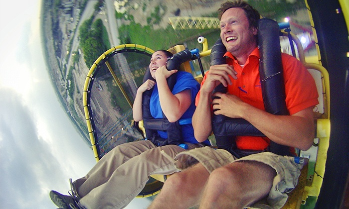 Zero Gravity Thrill Amusement Park - Dallas: Two Extreme Thrill Rides for One, Two, or Four with Video at Zero Gravity Thrill Amusement Park (Up to 57% Off)