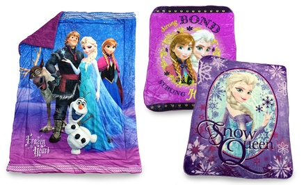 Disney's Frozen Plush Sherpa Baby and Twin-Size Blankets from $25.99–$31.99