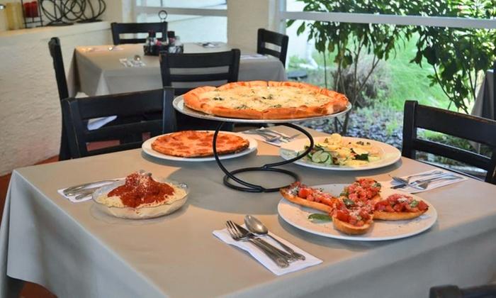 Starz Italian Restaurant & Pub - Multiple Locations: Italian Cuisine at Starz Italian Restaurant & Pub (Up to 40% Off). Three Options Available.
