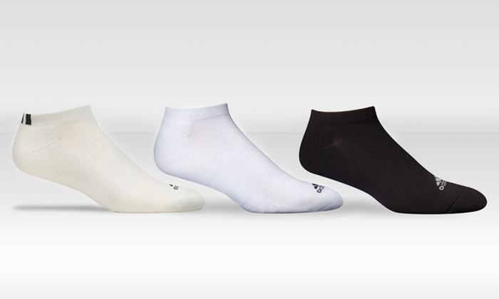 adidas Men's Comfort Low-Cut Socks 6-Pack: adidas Men's Comfort Low-Cut Socks 6-Pack in Black, Ecru, or White