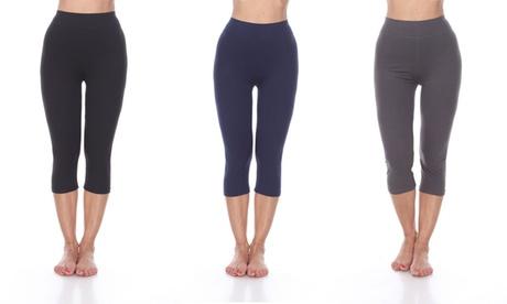 Women's Capri Leggings beded219-9bee-4cd9-8134-b7b9f6bb296d