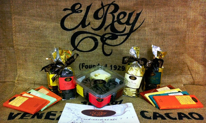 Chocolates El Rey, Inc. - Neartown - Montrose: $15 for an Artisanal-Chocolate Sampler and In-Store Chocolate Tasting at Chocolates El Rey, Inc. ($30 Value)