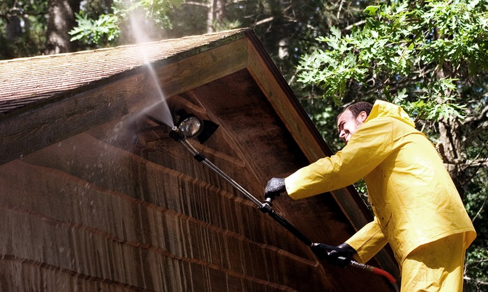 Rick's Pressure Washing - Raleigh / Durham: Pressure Washing for Homes Up to 2,000 or 3,200 Sq. Ft. from Rick's Pressure Washing (Up to 60% Off)