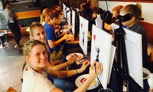 ArtNight UG Haftungsbeschränkt IG: 2 Std. unterhaltsames Painting Event in ausgesuchten Bars und Restaurants von ArtNight(bis zu 43% sparen*)