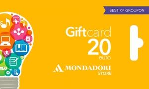 Buono sconto Mondadori Store: Mondadori Store - Buono sconto del valore di 10 o 20 € spendibile online o nei 600 Mondadori Store di tutta Italia