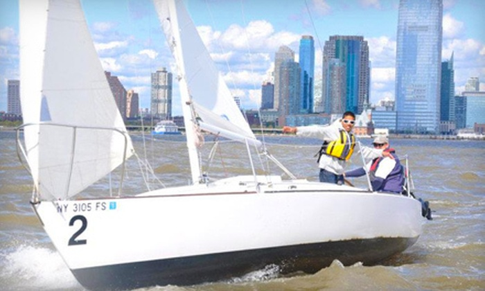 Hudson River Community Sailing - New York: $75 for a 2.5-Hour Sunset Sail for One on the Hudson from Hudson River Community Sailing ($150 Value)