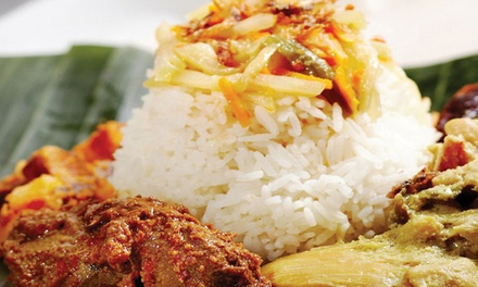 Indonesian Cuisine for Two or Four at Simpang Asia (40% Off)