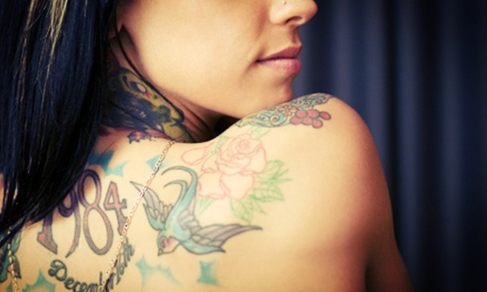 A1 BodyArts - Riverdale: $66 for $120 Worth of Tattoo Services at A1 BodyArts