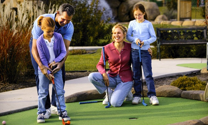 Brunswick Zone - Multiple Locations: $17 for Mini Golf for Four with Pizza, Drinks, and $10 Worth of Video-Game Play at Brunswick Zone ($34.99 Value)