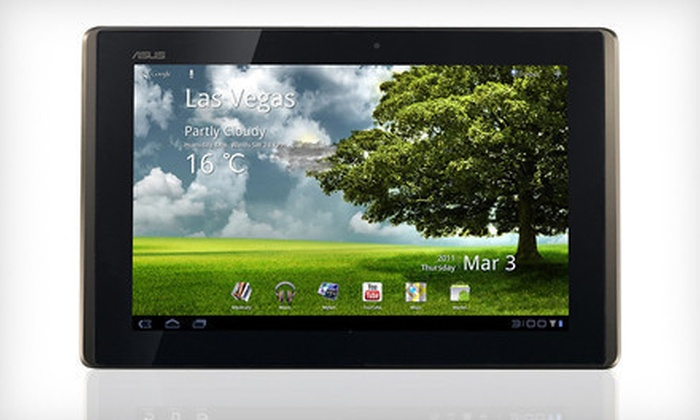 ASUS Android Transformer Tablet with Optional Dock: ASUS 10.1-Inch Android Transformer Tablet with Keyboard Docking Station (Up to 49% Off). Shipping Included.