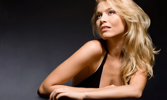 Heaven Salon & Spa - Williamsville: Haircut Package with Hand Treatment and Optional Hair Color or Highlights at Heaven Salon & Spa (Up to 71% Off)