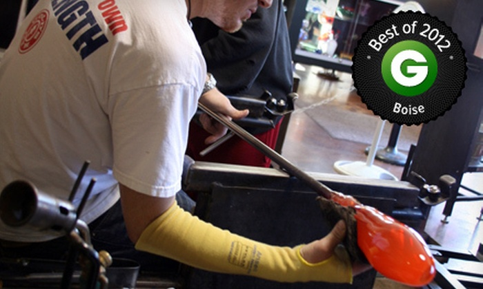 Boise Art Glass - Downtown: $75 for a One-Hour Glass-Blowing Class for Up to Two at Boise Art Glass ($150 Value)