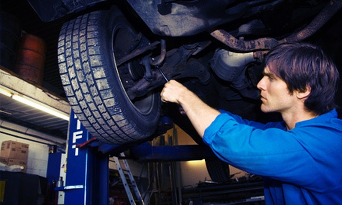 Ace Automotive - Government Hill: $39 for a Tire Changeover and Four-Wheel Brake Inspection at Ace Automotive (57% Off)