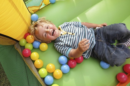 $5 for One Open-Play Admission to Bounce Town ($10 Value)