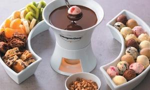 Häagen-Dazs: Chocoladefondue met warm drankje voor 2 personen voor 22 € bij Häagen-Dazs Louiza