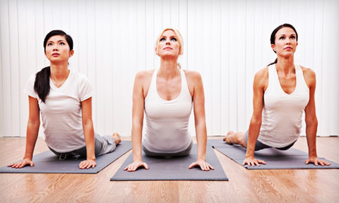 Yogacentric - Downtown Saline: 5 or 10 Yoga Classes at Yogacentric in Saline (Up to 66% Off)