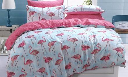 Pieridae Summer Prints Easy Care Reversible Duvet Set