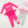 Girls' DC Comics Pajama Sets with Tutus