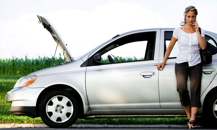ASAP AUTO MN - Minneapolis / St Paul: $80 for Four Emergency Roadside Assistance Services Over 12 Months from ASAP Auto of MN ($300 Value)