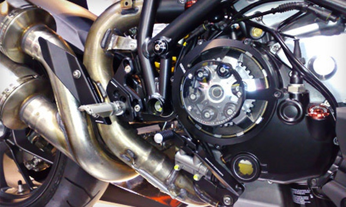 Nichols Sport Bikes - North Valley: $39 for a Motorcycle Oil-Change Package with Inspection at Nichols Sport Bikes in Milpitas (Up to $85 Value)