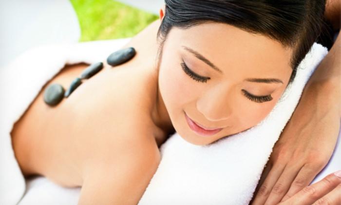 Baer Essentials Massage & Bodyworks - Webster Groves: 60- or 90-Minute Custom Massage with Hot Stone Back Treatment at Baer Essentials Massage & Bodyworks (51% Off)