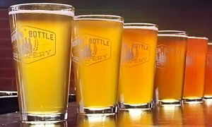 Broken Bottle Brewery: Craft-Beer Flights and Appetizers for Two or Four at Broken Bottle Brewery (Up to 40% Off)