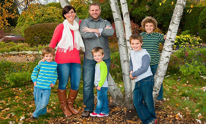 Smile America Portraits: Outdoor Photo-Shoot Package from Smile America Portraits (Up to 90% Off). Four Options Available.