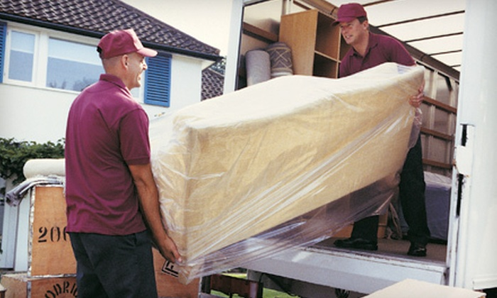 All In A Box Moving & Storage - Tampa Bay Area: $88 for Two Hours of Moving Services with Two Movers and Truck from All In A Box Moving & Storage (Up to $300 Value)