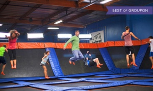 Sky Zone - Riverside: Two 60-Minute Open-Jump Sessions at Sky Zone Riverside (Up to 50% Off). Two Options Available.
