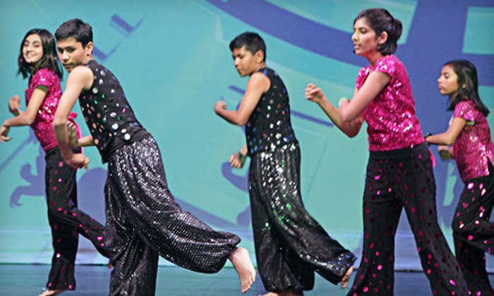 Stepz - Multiple Locations: 10 Bollywood Aerobics or Bollywood Dance Classes for a Child or Adult at Stepz (Half Off). Multiple Options Available.