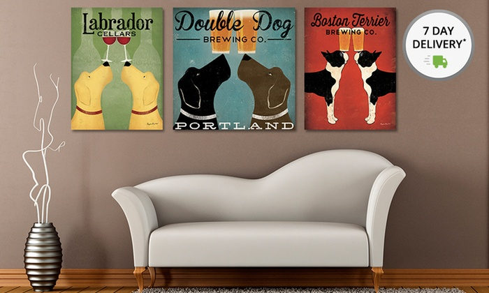 Ryan Fowler Vintage-Ad-Style Prints of Dogs and Cats: Ryan FowlerVintage-Ad-Style Prints of Dogs and Cats. Multiple Prints Available. Free Returns.