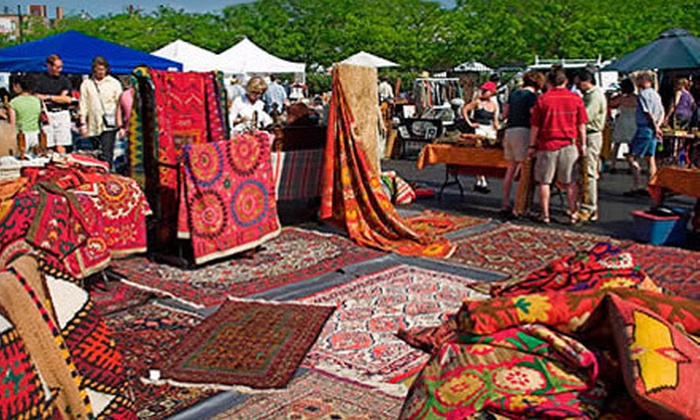 Randolph Street Market - West Town: Vintage-Market Shopping for Two, Three, or Five at Randolph Street Market (Up to 60% Off)