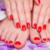 58% Off Shellac Manicure and Dry Pedicure