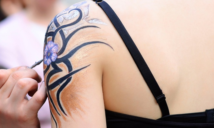 BYOB Body-Painting Class - Long Island City: Be the Painter and the Canvas in a BYOB Body-Painting Class