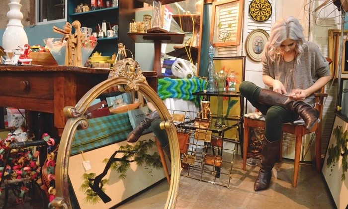 The Dallas Flea - West Dallas: Flea-Market Package for One or Two at The Dallas Flea (Up to 45% Off). Four Options Available.