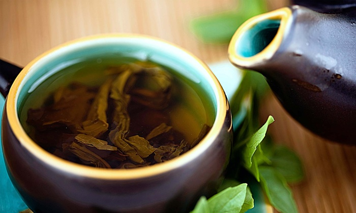 Teaglad: 14- or 28-Day Detox Tea Program or 60 g. Matcha Green Tea at Teaglad (63% Off)